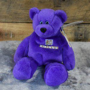 NWT 1998 Cris Carter Limited Treasures Pro Bear
